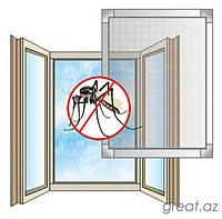 Москитная сетка на готовое окно и блкон