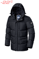 Куртка зимняя мужская Braggart Dress Code - 2609C графит