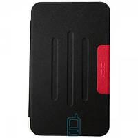 Чехол-книжка для ASUS MeMO Pad 8 ME181 пластиковая накладка Folio Cover Черный Код:13038
