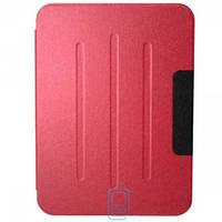 Чехол-книжка для Samsung Galaxy Tab 4 10.1 SM-T530 пластиковая накладка Folio Cover Красный Код:13059