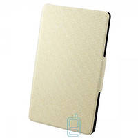 Чехол-книжка для Samsung Galaxy Tab S SM-T700 пластиковая накладка Узор Белый Код:13084