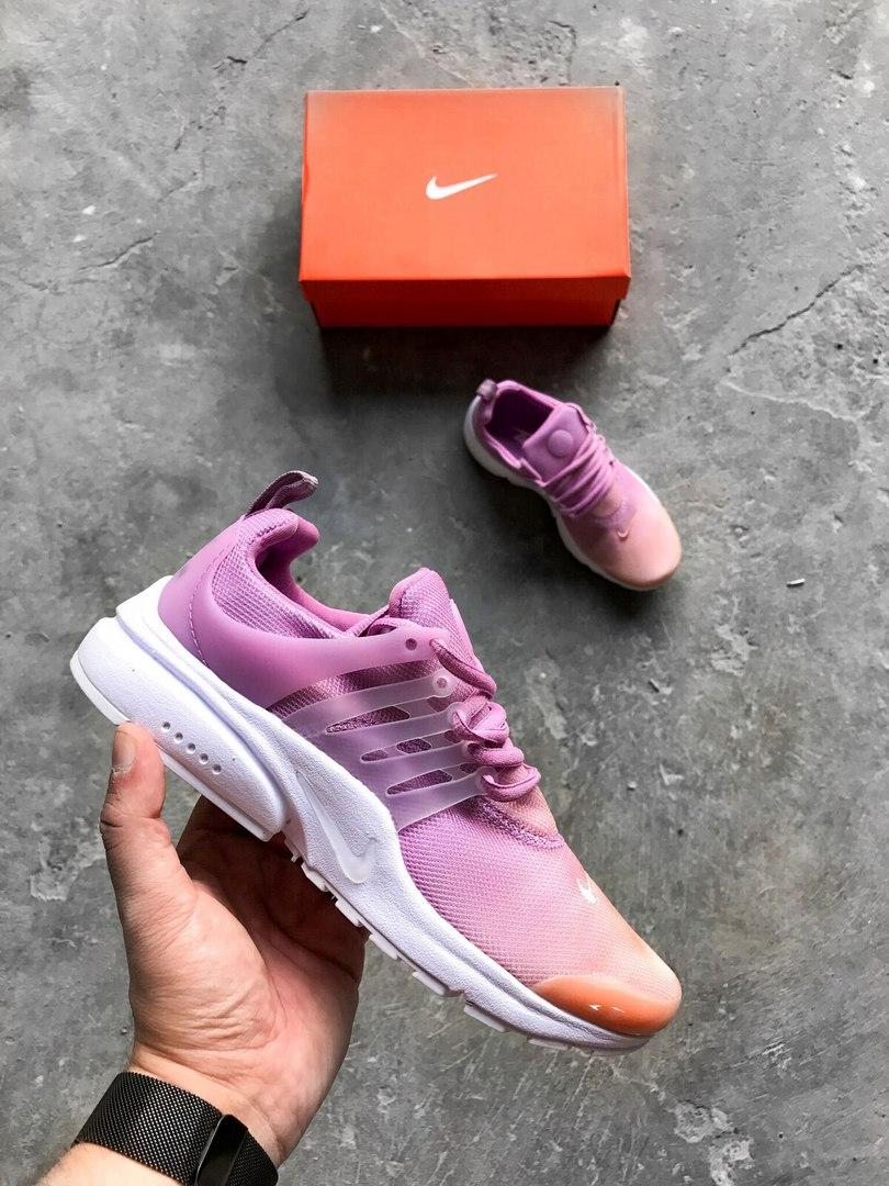 "Женские кроссовки Nike Air Presto Ultra Br ""Sunset Glow"". Живое фото. Топ качество! (Реплика ААА+)"