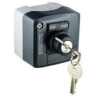 XAL-D142H29 Пост управления кнопочный 2-х позиц. переключение ключом