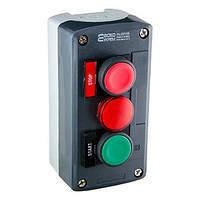"""XAL-D371H29 Пост управления кнопочный трехместный  """"СТАРТ-СТОП-Сигнальная"""""""