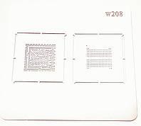 BGA трафарет W208, Hi6620, Emmc FA232AZMA