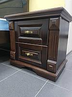 Прикроватная тумба деревянная Вероника Veronika /кубик (Украина)