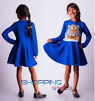 Красивое платье для девочки Кензо (3,4,5,6 лет)