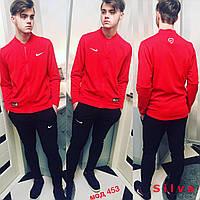 Мужской спортивный костюм Nikе в разных цветах. Ткань: лакоста. Размер: 42-44,44-46,46-48,48-50.