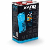 Синтетичне моторне масло XADO LX AMC Black Edition 5W-40 SM/CF 4л