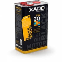 XADO LX AMC Black Edition 5W-30 SM/CF синтетическое моторное масло 4л