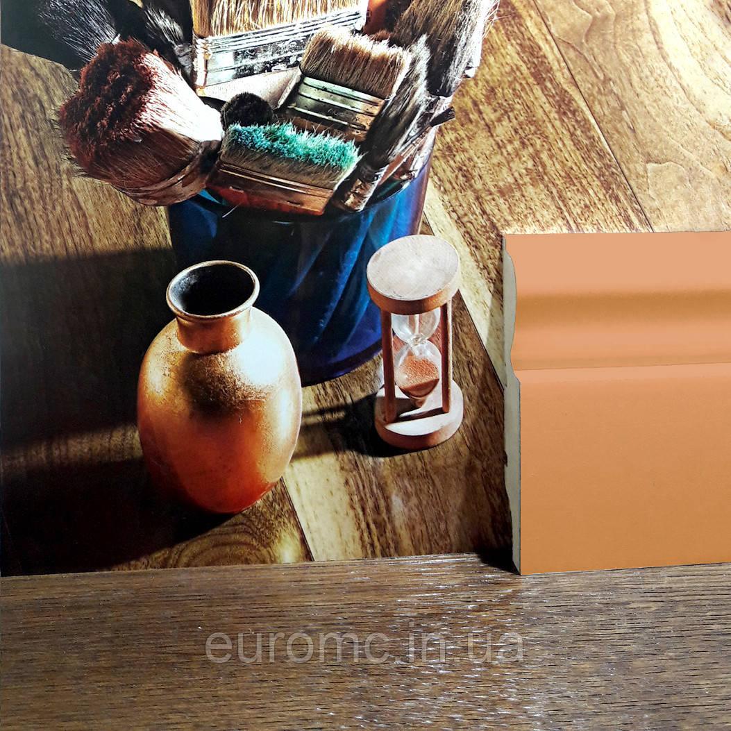 Плінтус МДФ в Ваш колір висота 140мм