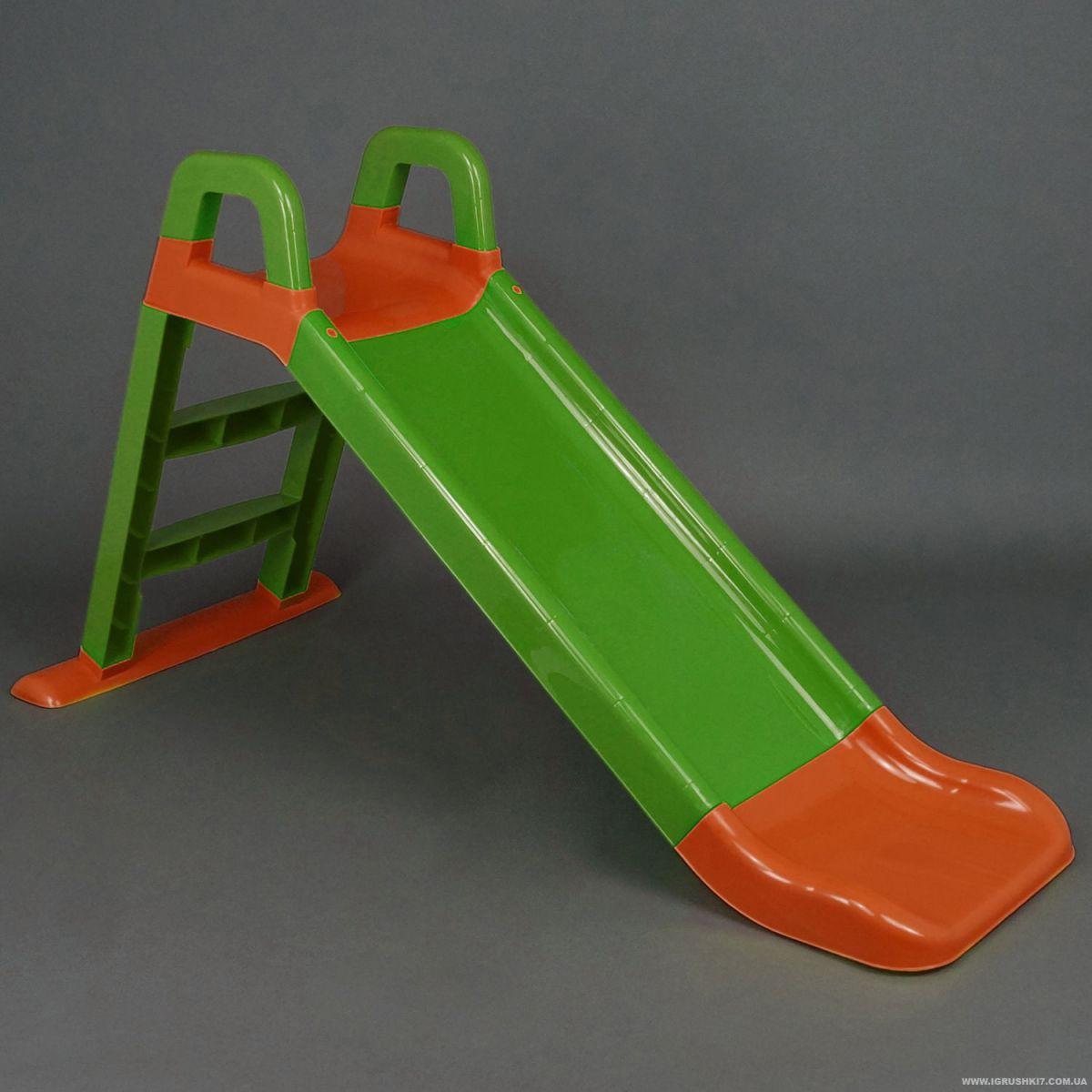 Горка для катания оранжево-зеленая 0140/04