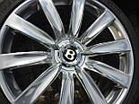 Диски 21'' на BENTLEY GT GTC SPUR GENUINE CHR, фото 5