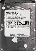 Жесткий диск Toshiba MQ01ABF, 2.5, 500GB, 5400 оборотов/мин, буфер 8 Мб, SATA III, 70 x 7 x 100 мм, среднее вр