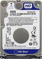 Жесткий диск Western Digital Blue Mobile, 2.5, 500GB, 5400 оборотов/мин, буфер 16 Мб, SATA III, 70 x 7 x 100 м