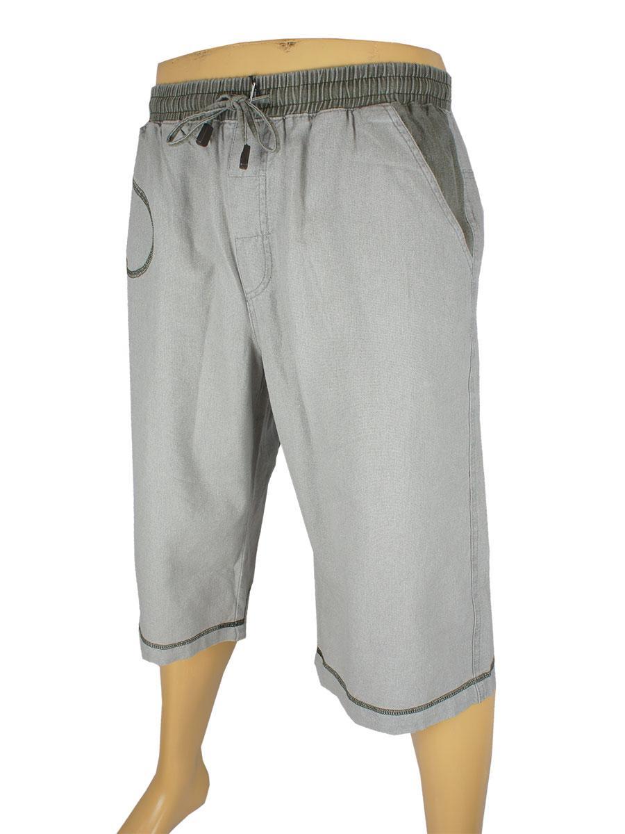 Чоловічі шорти Cordial СО1362 Н сірого кольору