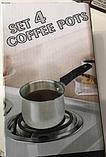 Турки (кофейный набор) Set 4 Coffee Pots код 12045 АКБ, фото 2