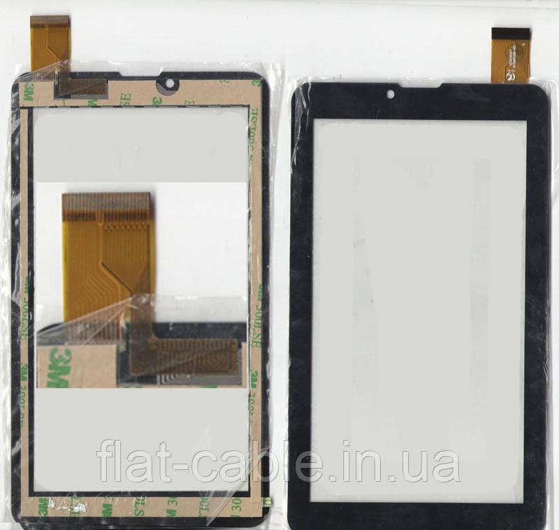 Тачскрин (сенсор) №122.3 для планшета Texet TM-7049 3G HS1283A Black 104,5*184,5 30pin