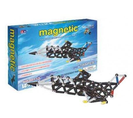 Магнитный конструктор 00113 180 деталей
