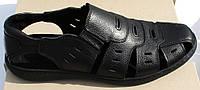 Босоножки мужские великаны кожаные, кожаная обувь мужская 46-50 от производителя модель ВС51-3