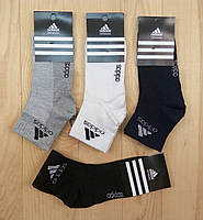 Женские носки с сеткой Adidas Турция ассорти короткие НЖЛ-116