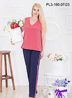 Костюм женский оптом Энджи   красивый, модный, фасон в размерах 44 до 50