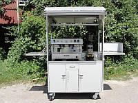 Передвижная уличная кофейня (1250 мм), фото 1