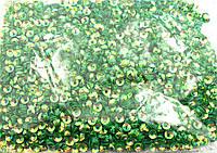 Пайетка россыпь 100грм в упак. Цвет салатовый