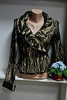 Женский стильный пиджак с длинным рукавом