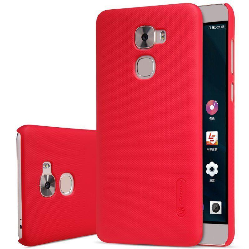Nillkin LeEco Le Pro 3 Super Frosted Shield Red Чохол Накладка Бампер