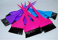 Кисть для окрашивания волос широкая