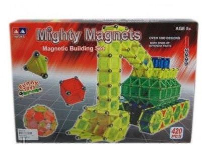 магнитный конструктор для детей 420 деталей