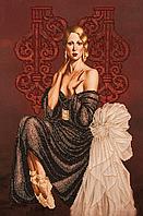 Набор для вышивки бисером Балерина FLF-03930x45
