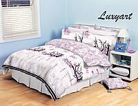 Комплект постельного белья Сакура, хлопок, евростандарт