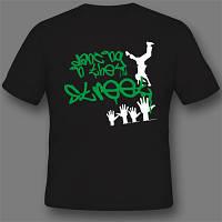 Нанесение шелкотрафарет на футболках в Днепропетровске