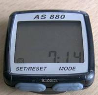 Велокомпьютер - ASSIZE - AS880 черносерый