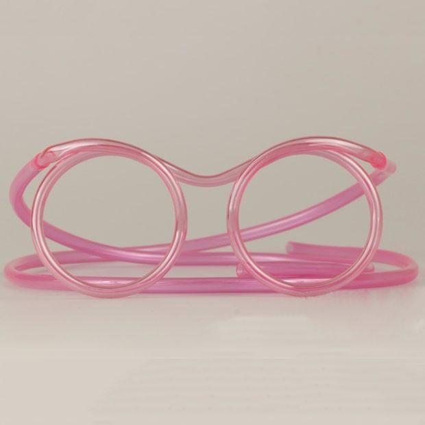 Трубочка для сока - очки  №797