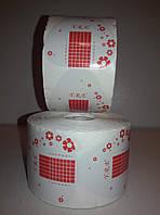 Формы для наращивания ногтей (белые +красный цветок) YRE 500шт