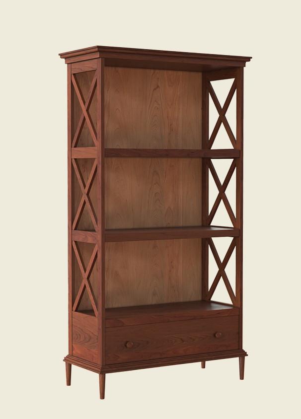 Деревянная этажерка Е-35 (на три яруса), производитель фабрика Скиф