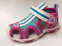 Босоножки и сандалии на девочку, детская летняя обувь, спортивная модель тм Tom.m р. 20,21