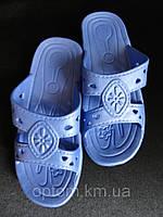 Детские подростковые тапочки резиновые