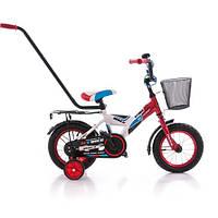 """Двухколёсный велосипед MYBIKE PY 14"""" сине-белый Azimut"""