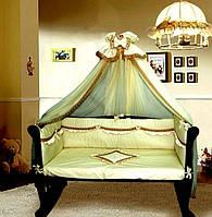 Жаклин- набор постельного белья Greta Lux из 7 пр.
