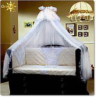 Постельное белье для новорожденных в кроватку Сказка