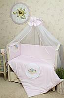 Детское постельное белье для новорожденных Улитка