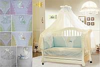 Детское постельное белье для новорожденных Золотая рыбка
