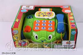 "Логика PLAY SMART 7068 ""Телефончик на колесах"" батар муз свет"
