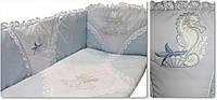 Бортики в кроватку для новорожденных Золотая Рыбка