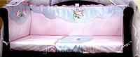 Защитное ограждение в кроватку Свитанок