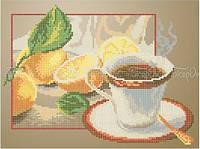 Схема для вышивки бисером Чай с лимоном (А4)